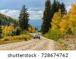 autumn mountain road   autumn...