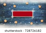 christmas background with... | Shutterstock . vector #728726182