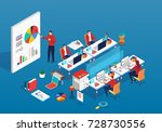 business training | Shutterstock .eps vector #728730556