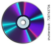 compact cd or dvd disc