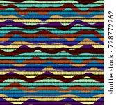imitation of geometric... | Shutterstock .eps vector #728772262