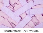 chewing gum background with... | Shutterstock . vector #728798986