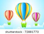 illustration of www hanging... | Shutterstock .eps vector #72881773