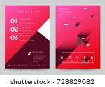 cover design vector template... | Shutterstock .eps vector #728829082