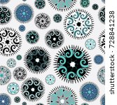 collection of various... | Shutterstock .eps vector #728841238