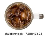 soft drinks in glass on a white ... | Shutterstock . vector #728841625