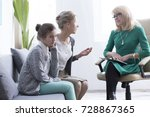 child and adolescent mental... | Shutterstock . vector #728867365