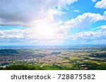 landscape view of the horizon  | Shutterstock . vector #728875582