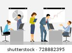 vector illustration of people... | Shutterstock .eps vector #728882395