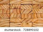 stack of pine wood planks ...   Shutterstock . vector #728890102