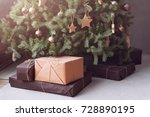 Christmas Tree With Wooden...