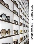 display full of sunglasses | Shutterstock . vector #728891632
