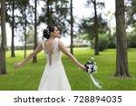 just married  | Shutterstock . vector #728894035