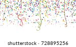 seamless background with... | Shutterstock .eps vector #728895256
