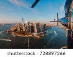 new york city skyline and...   Shutterstock . vector #728897266