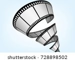 cinema   movie and photography... | Shutterstock .eps vector #728898502