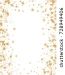 gold flying stars confetti... | Shutterstock .eps vector #728949406
