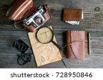 adventure seeker set | Shutterstock . vector #728950846