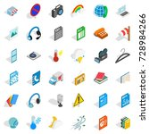 file and app icons set.... | Shutterstock . vector #728984266