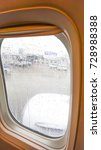 the window of the airplane on... | Shutterstock . vector #728988388