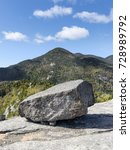 Small photo of Granite Boulder and Rocky Peak, Adirondack Mountains