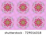 raster pattern. pattern with... | Shutterstock . vector #729016318