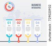 business infographic design... | Shutterstock .eps vector #729020932