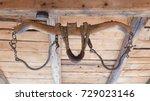 Vintage Old Wooden Rustic Ox...