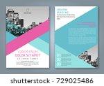 brochure design  brochure... | Shutterstock .eps vector #729025486