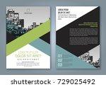 brochure design  brochure... | Shutterstock .eps vector #729025492