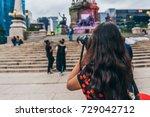 mexico   september 20   tourist ... | Shutterstock . vector #729042712