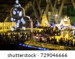 blurred   bangkok thailand ... | Shutterstock . vector #729046666