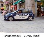 june 20  2017. policemen watch... | Shutterstock . vector #729074056