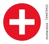 first aid icon. | Shutterstock .eps vector #729075922