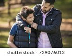 confidential conversations  | Shutterstock . vector #729076012