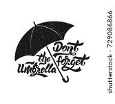 umbrella icon. don't forget the ... | Shutterstock .eps vector #729086866