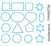 Icons Square  Star  Square Wit...