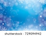 christmas abstract background.... | Shutterstock .eps vector #729094942