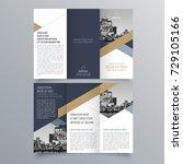 Brochure design, brochure template, creative tri-fold, trend brochure | Shutterstock vector #729105166