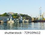 russia  crimea  sevastopol  ... | Shutterstock . vector #729109612