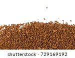 heap of instant coffee for...   Shutterstock . vector #729169192