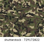 seamless woodland pattern.... | Shutterstock .eps vector #729172822
