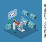 isometric 3d illustration of... | Shutterstock . vector #729183238