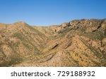 Mojave Desert Hillside Covered...