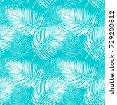 fern leaves pattern | Shutterstock .eps vector #729200812