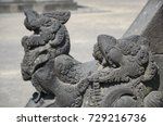 close up of statues of... | Shutterstock . vector #729216736