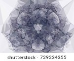 abstract multicolor mosaic... | Shutterstock .eps vector #729234355