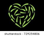 chili icon | Shutterstock .eps vector #729254806