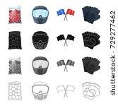 packaging  plastic  balls  and...   Shutterstock .eps vector #729277462