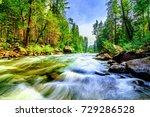 Mountain Creek Flowing Through...
